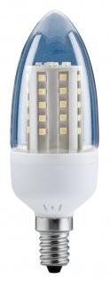 10 x LED Kerze Paulmann 2, 6W E14 Fassung Klar Warmweiß 200 lm 28109.10 - Vorschau 2