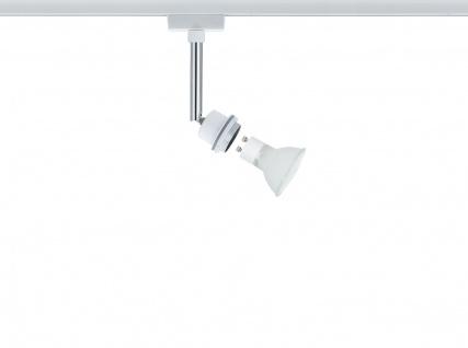 Paulmann URail Schienensystem DecoSystems Halogen Spot 1x40W GZ10 Weiß 230V Metall