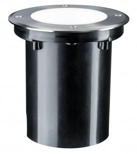 Paulmann Outd Plug & Shine Boden Einbauleuchte IP67 675lm 4000K 6W 24V 38° schwenkbar 20° Si Metall - Vorschau 2