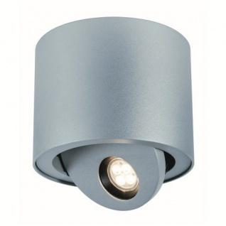 927.32 Premium LINE ABL Set Ostra IP44 rd schw LED 8, 7W 2700K 230V/700mA 135mm wsalu Sz-m Alu Paulmann