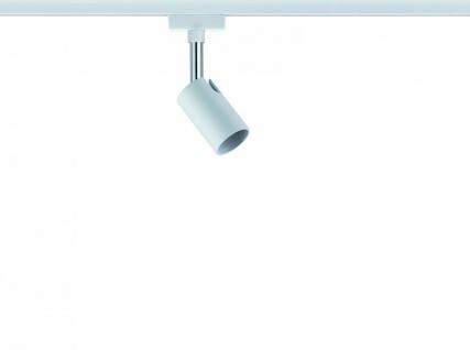 Paulmann URail Schienensystem Spot Pure I max. 1x10W GU10 Weiß/Chrom 230V Metall