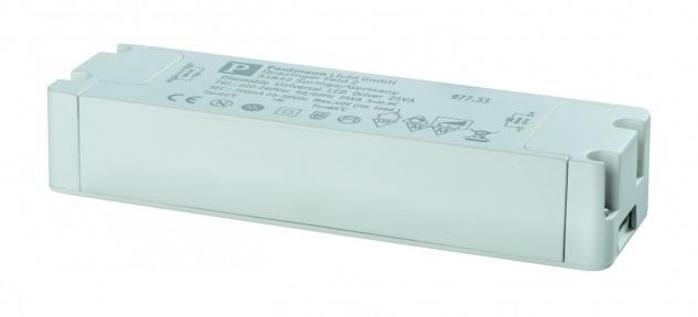Paulmann LED Trafo Transformator Konstantstrom 700mA 25W dimmbar Weiß