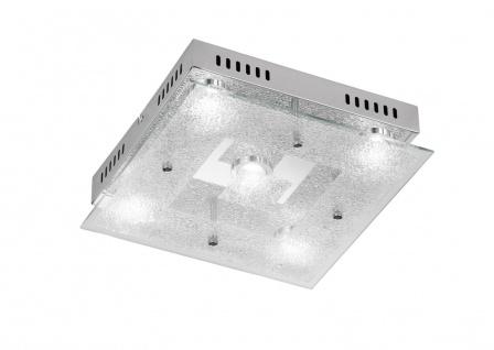 Action 956205010000 Deckenlampe Brooks LED Deckenleuchte 5 x 5 W 3.000 K 2.100 Lumen Chrom