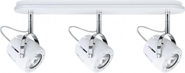 Paulmann 602.78 Spotlights Mega Balken 3x40W GU10 Weiß 230V Metall