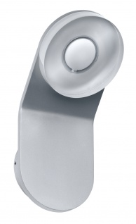 WallCeiling rund Tucana WL IP44 LED 1x4, 5W Alu eloxiert/Klar 230V Met/Acryl