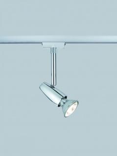 Paulmann URail Schienensystem Light&Easy Spot Barelli 1x50W GU10 Chrom 230V Metall - Vorschau 3
