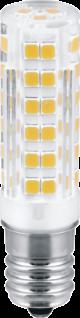 LED Leuchtmittel 4, 5W E14 3000K Warmweiss 230V 400lm Klar 16mm Durchmesser