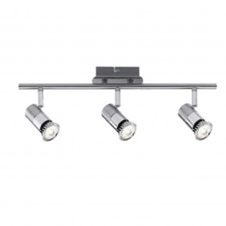Nice Price 601.92 Nice Price Spotlight C12 LED Stange 3x3, 5W GU10 Chrom 230V Metall