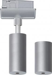 950.00 Paulmann U-Rail Einzelteile URail Light&Easy Pendel Adapter Chrom matt 230V Metall / Kunststoff