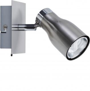 Paulmann Spotlights Meli Balken 1x8W GU10 Nickel satiniert 230V Metall
