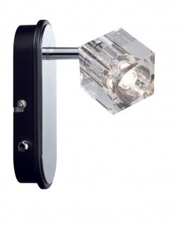 Paulmann 601.66 Spotlights IceCube LED Balken 1x3W Chrom 230V Metall/Glas