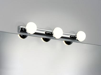 Paulmann WallCeiling Proxima IP44 LED 3x3, 5W Chrom/Weiß 230V Metall/Kunststoff