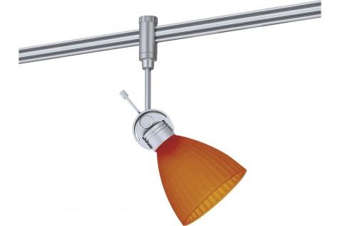 972.75 Paulmann Phantom Spot Phara Chrom mat Orange/Gelb inkl. Leuchtmittel in 40W G9