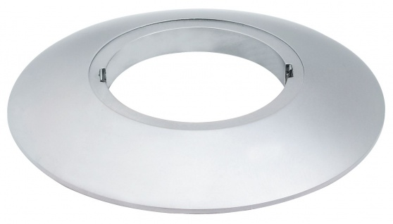 Paulmann 987.77 Profi Aufbauring rostfrei rund UpDownlight LED 80mm Chrom matt/Alu Zink