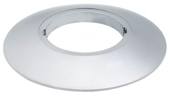 Paulmann Profi Aufbauring rostfrei rund UpDownlight LED 80mm Chrom matt/Alu Zink