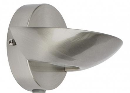 50200053003015 Ledar LED Wall Light Wandleuchte stahl gebürstet 5 W 309 Lm 3.000 K IP20