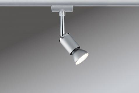 953.31 Paulmann U-Rail Einzelteile URail System Spot Pure II max. 1x10W GU10 Chrom matt/Chrom 230V Metall