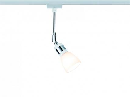 Paulmann URail Schienensystem LED Spot Titurel II 1x2, 2W G9 Weiß/Chrom 230V Metall/Glas
