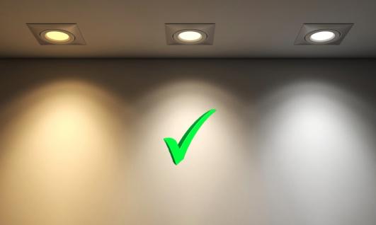 6er Set LED Leuchtmittel 7W GU10 4000K Neutralweiss 230V 520lm Weiß - Vorschau 4