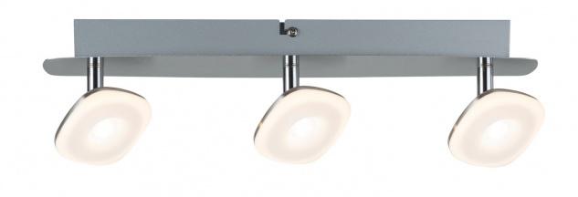 Paulmann Spotlight Squarelense 3x3, 2W Nickel 230V Metall/Acryl