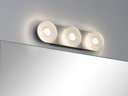 Paulmann 704.77 WallCeiling rund Tucana IP44 LED 13, 5W Alu eloxiert/Klar 230V Metall/Acryl