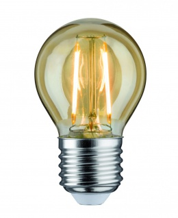 Paulmann 283.82 LED Tropfen 2, 5W E27 230V Gold 2500K