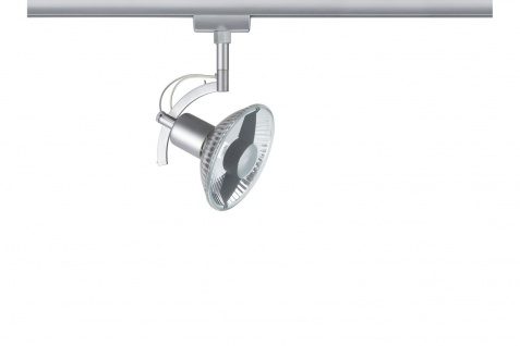 951.15 Paulmann U-Rail Einzelteile URail System Light&Easy Spot Roncalli max. 1x50W GU10 Chrom matt 230V Metall