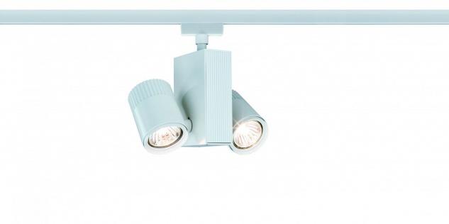 Paulmann URail Schienensystem Light&Easy Spot Tecno 2x28W GU5, 3 Weiß 230V Metall