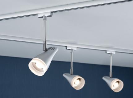 Paulmann URail Schienensystems LED Spot Drive 1x5, 4W Chrom matt/Chrom 230V Metall/Kunststoff - Vorschau 3