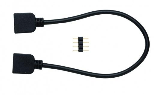 Paulmann 700.96 Function FixLED RGB Flex-Connector 10cm Schwarz-Kunststoff