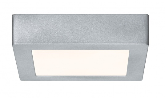 Paulmann 706.48 WallCeiling Lunar LED-Panel 170x170mm 10, 5W 230V Chrom matt Alu