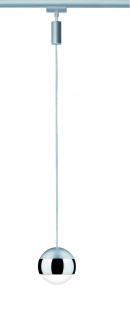 URail System LED Pendel Capsule 1x4, 5W Chrom matt 230V Metall