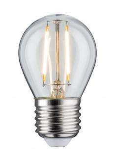 Paulmann 284.80 LED Tropfen 4, 5W E27 Klar 2700K dimmbar