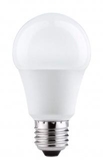 6x Paulmann E27 Fassung 28168 LED AGL 6, 5W E27 230V 470lm Warmweiß