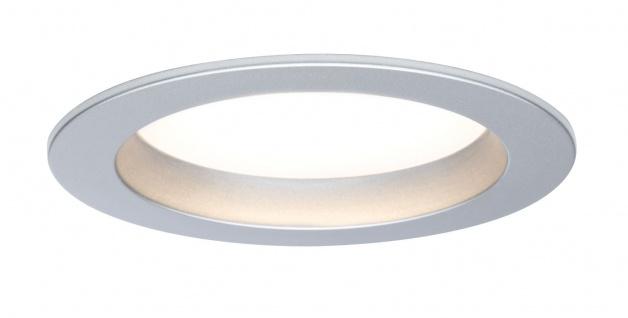 TIP Einbauleuchte rund LED 3x4, 5W 2700K 230V 88mm Chrom matt/Kunststoff