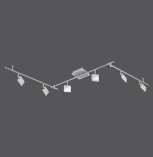 6966-17 Paul Neuhaus DAAN Deckenleuchte, chrom/nickel 24W LED-Board 12V IP20