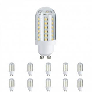 10x 281.67 Paulmann LED HV-Stiftsockel 3, 5W 60 LEDs GU10 230V Warmweiß 28167 - Vorschau 1