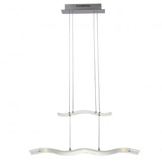 Geneve 7684.05.01.0000 Wofi LED Pendelleuchte 5x5W warmweiss Glas
