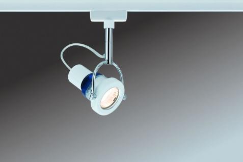 Paulmann URail Schienensystem Light&Easy Spot Ring 1x11W GU10 Weiß 230V Metall