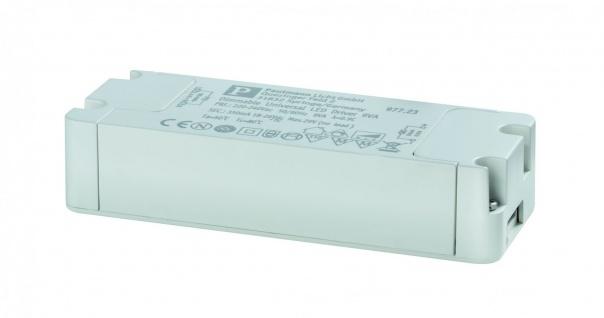 Paulmann LED Trafo Transformator Konstantstrom 350mA 9W dimmbar Weiß