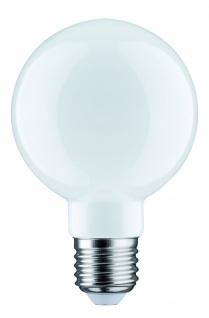 Paulmann 283.37 LED Globe 80 6W E27 230V Opal 2700K