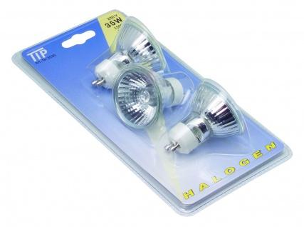 TIP 3230 Halogen Reflektor 3x35W GU10 230V 51mm Chrom