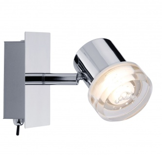 Paulmann Spotlight Pearl LED 1x3, 2W Chrom 230V Metall