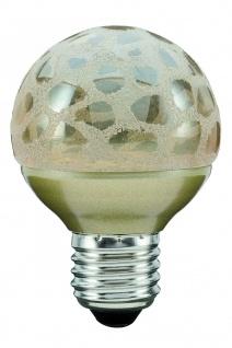 Paulmann 280.83 LED Miniglobe 60 1x2, 3W E27 Krokoeis gold