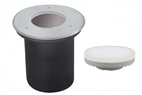 Paulmann Special Einbauleuchte Boden überfahrbar Energiesparlampe IP67 max. 13W 230V GX53 Disc 140mm Edelstahl