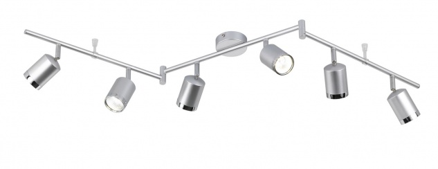 947606630000 Action Deckenlampe Port LED Deckenleuchte 24 W 3.000 K 1.800 Lumen Aluminium gebürstet