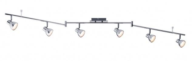 Paulmann 603.58 Spotlight Cup LED 6x4, 6W Chrom 230V Kunststoff