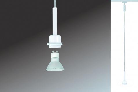 Paulmann URail Schienensystem DecoSystems LED Pendel Blanko 1x3, 5W GZ10 230V Weiß Metall - Vorschau 3