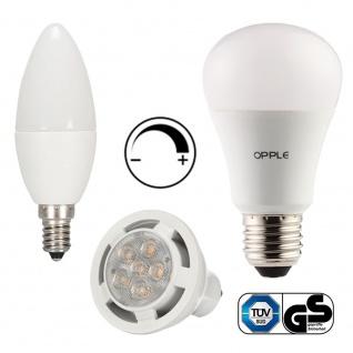 E27 9, 5W / E14 6W / GU10 6, 5W - 2700Kelvin Dimmbare LED Leuchtmittel