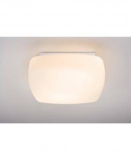 Paulmann 700.42 WallCeiling Cubicco 2x18W G24d2 345x345mm Weiß 230V Metall/Opalglas